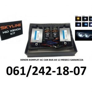 XENON KOMPLETI AC CAN CAN BUS SKYLINE 12 MESECI GARANCIJA A9 TEHNOLOGIJA